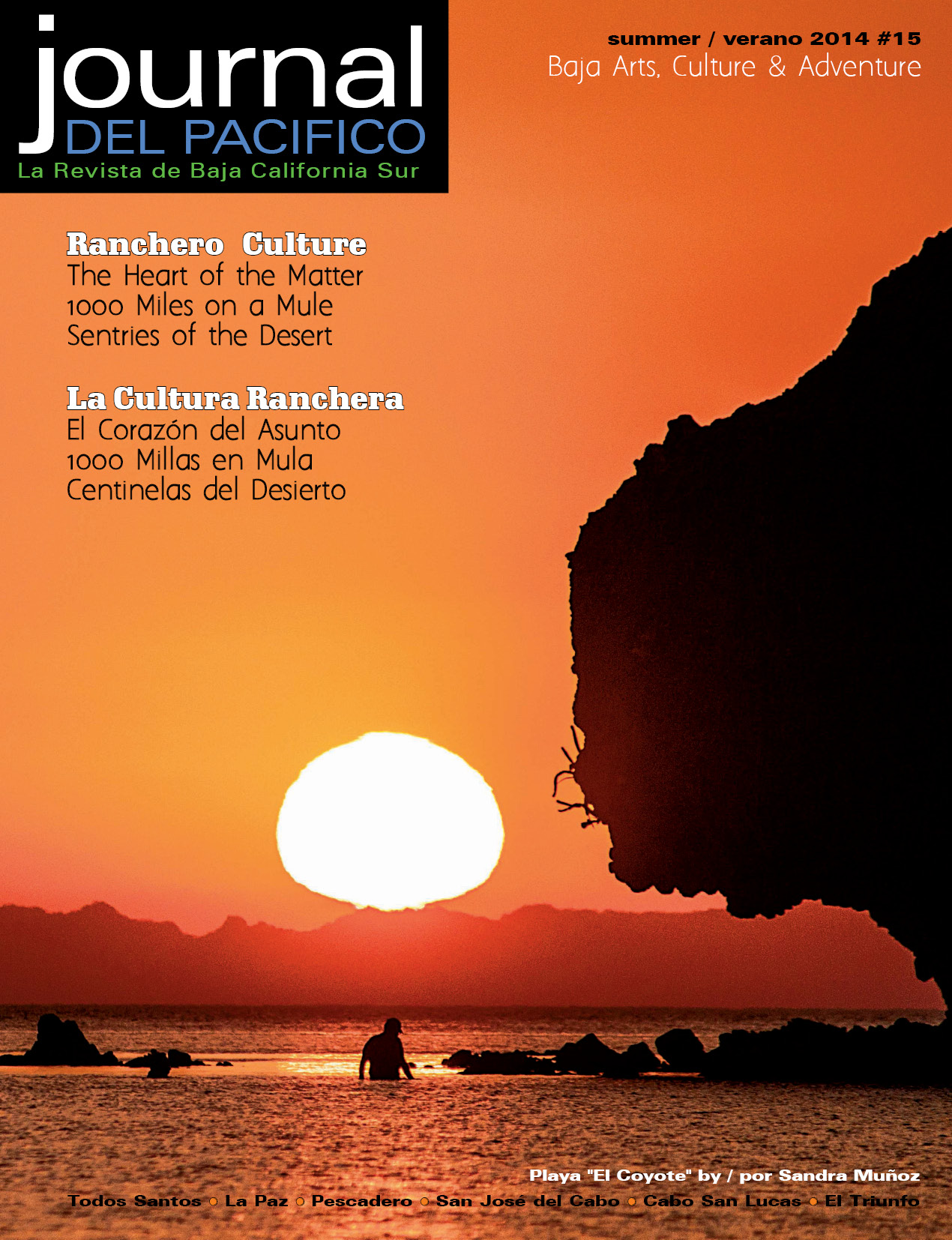 Summer 2014 Issue of Journal del Pacifico