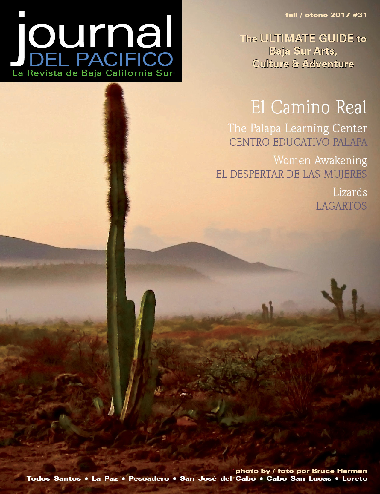 Fall 2017 Issue of Journal del Pacifico