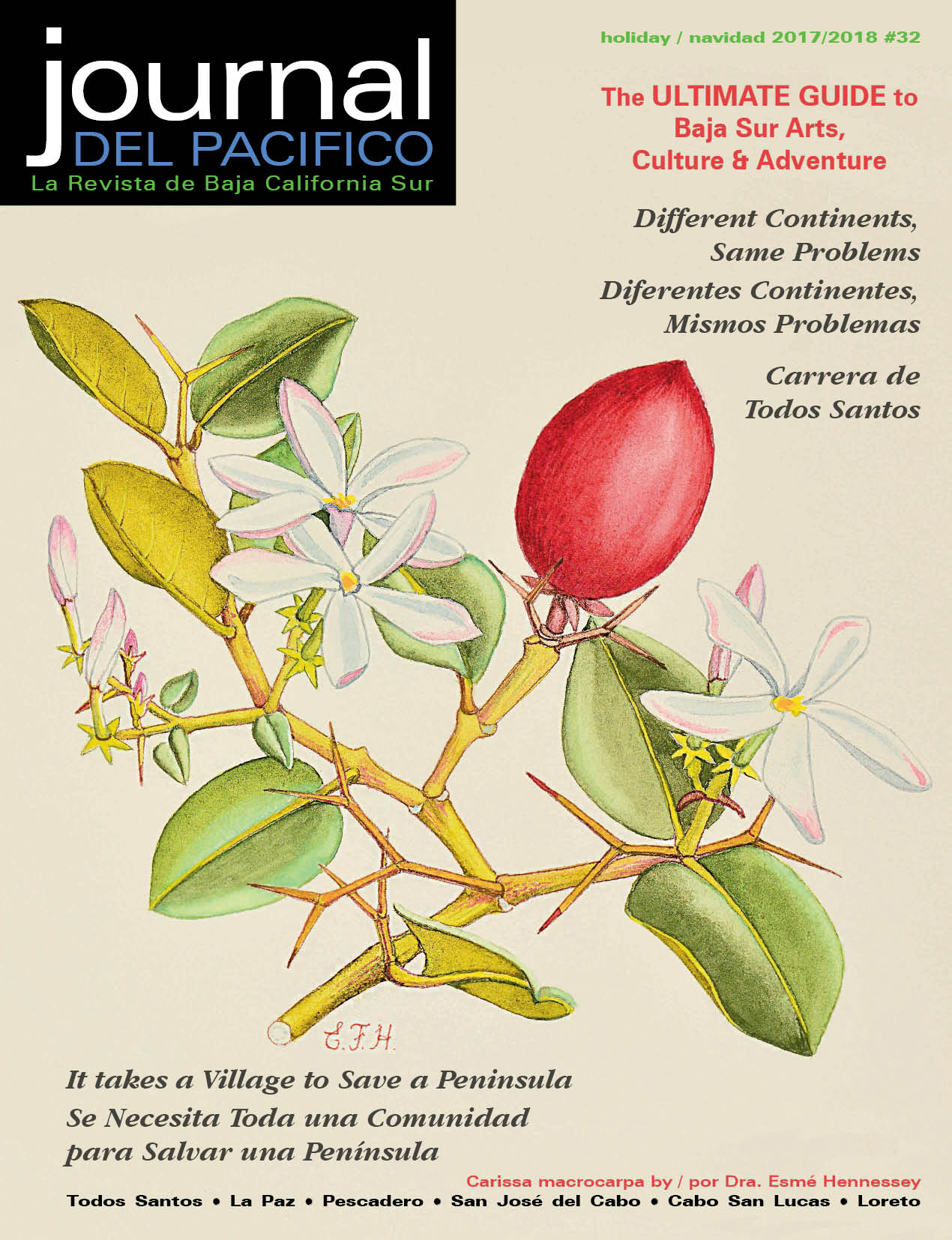 Holiday 2017/2018 Issue of Journal del Pacifico