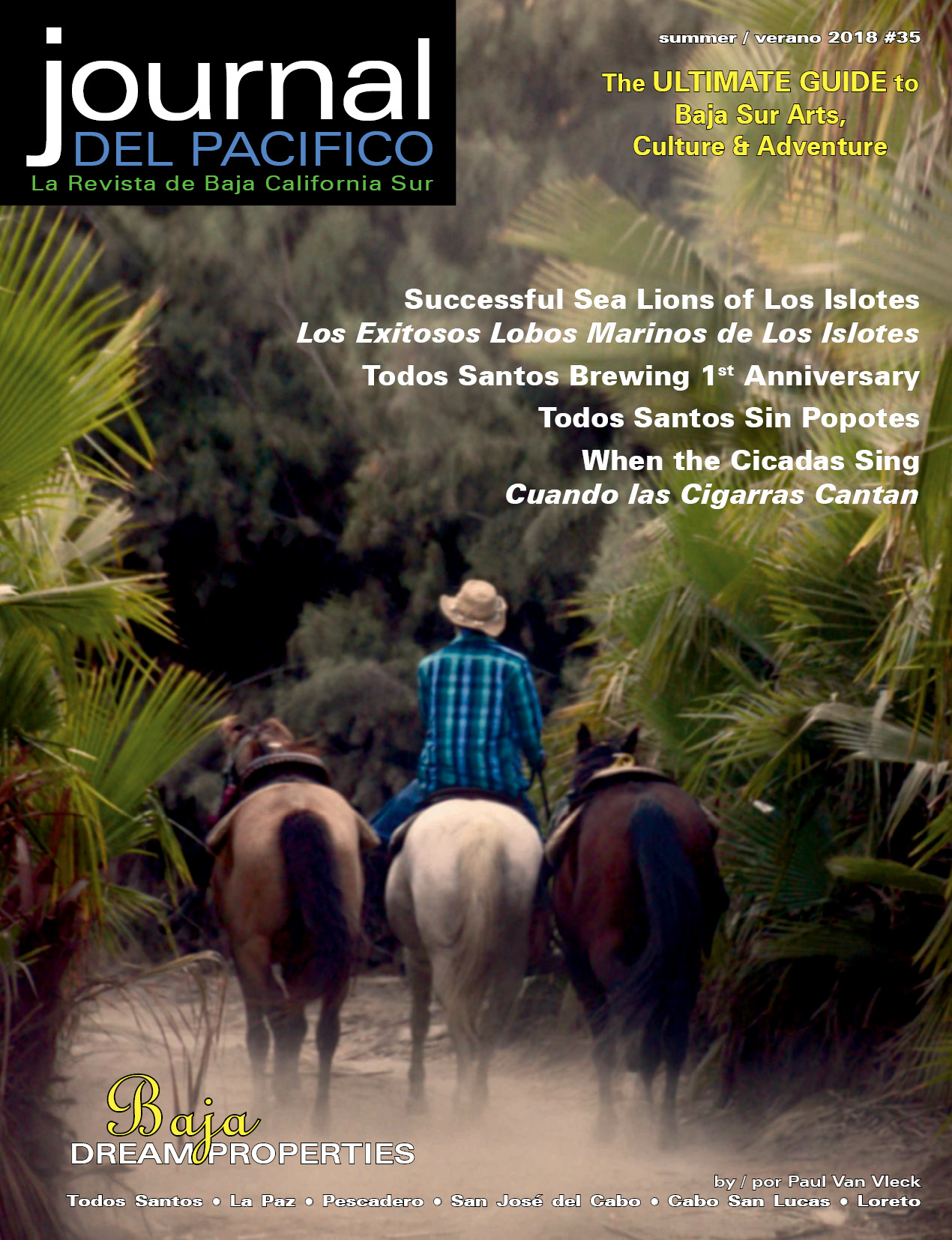Summer/Verano 2018 Issue of Journal del Pacifico