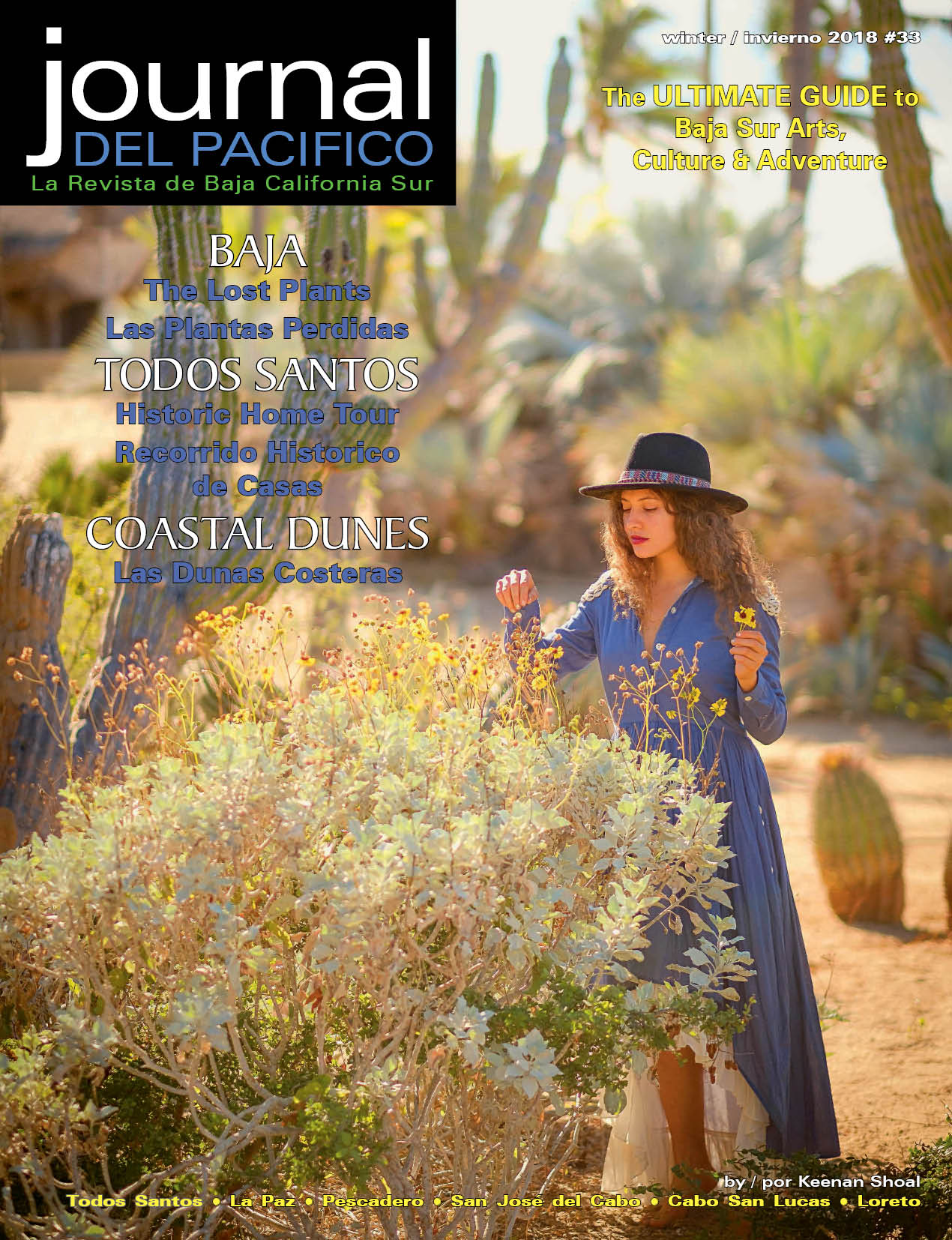 Winter/Invierno 2018 Issue of Journal del Pacifico