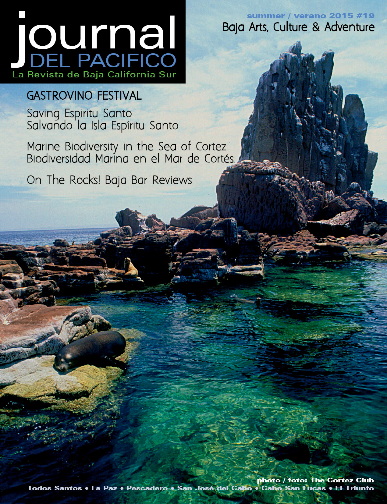 Spring 2015 Issue of Journal del Pacifico