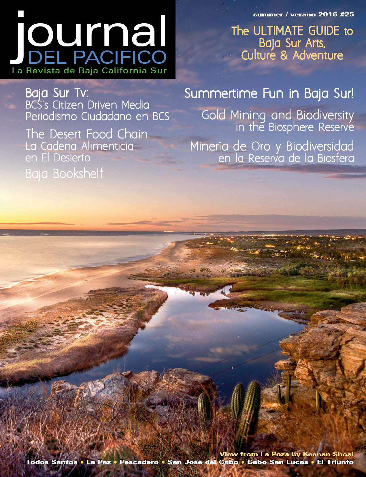 Summer 2016 Issue of Journal del Pacifico