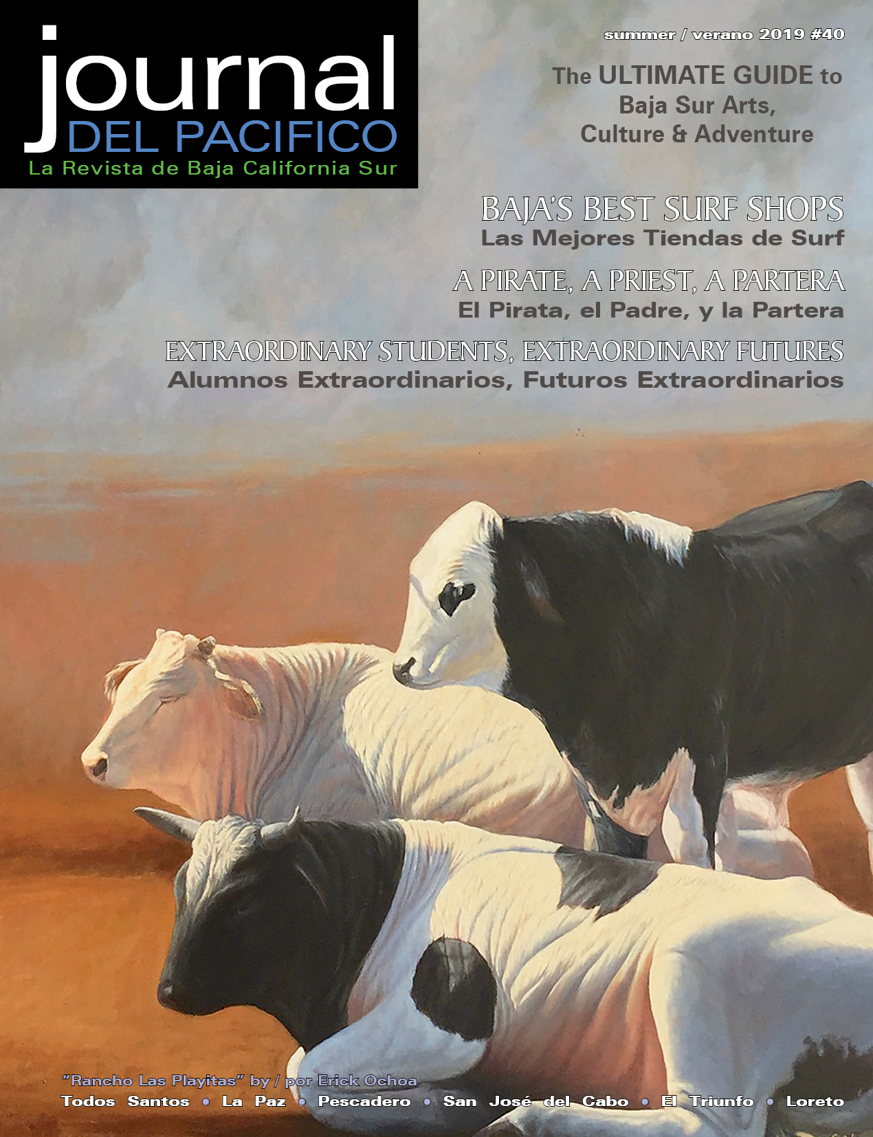 Summer/Verano 2019 Issue of Journal del Pacifico