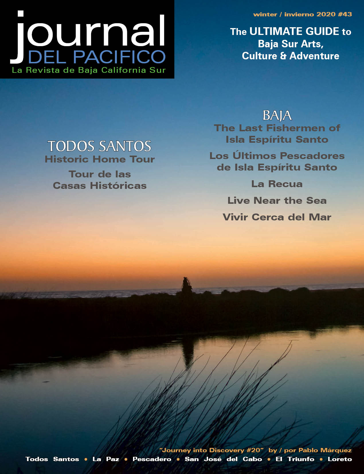 Winter/Invierno 2020 Issue of Journal del Pacifico