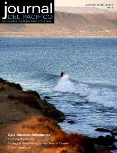 Summer Issue Cover Journal del Pacifico, outdoor in Baja issue