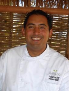 Chef Bueno of Rancho Pescadero, Todos Santos, Baja, Mexico.