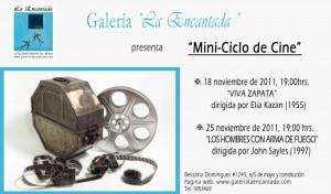 mini ciclo de cine