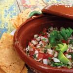 Salsa from Rancho Pescadero, Todos Santos, Baja, Mexico.