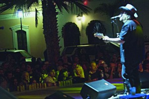 Kevn Kinney at the First Todos Santos Music Festival