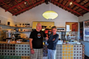Alec and April Tidley of Baja Bean, Pescadero, Baja, Mexico