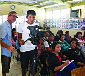 Youth in Video film class, Todos Santos, Baja, Mexico