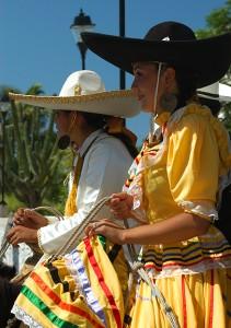 Escaramuza riders, Todos Santos, Baja, Mexico