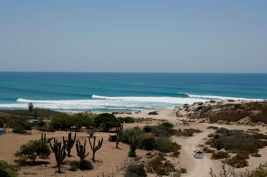 Baja Surf Line Up, Baja, Mexico