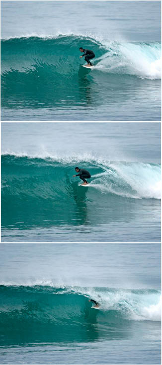 Dany Torres tube sequence, surfing, Todos Santos, Baja, Mexico