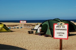 Sea Turtle campsite, photo by Stephanie Rousso, Baja, Mexico