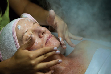 White Sand Massage and Day Spa 35-step facial, photo by Laurie Pearce Bauer, Todos Santos, Baja, Mexico