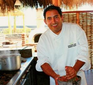 Chef Rodrigo Bueno, Rancho Pescadero, Baja, Mexico