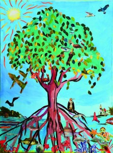 Mangrove Collage by Tori Sepulveda and Students