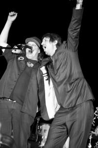 Kev'n Kinney and Joseph Arthur, photo by Vivian Johnson, Todos Santos Music Festival, Baja, Mexico
