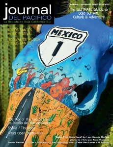 """Baja's first Rock Band"" Journal del Pacifico Holiday 2015/2016 cover by Dennis McGhee, Baja, Mexico"