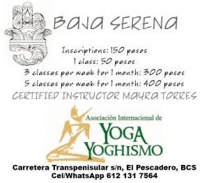 Baja Serena / Yoga Los Arcos, El Pescadero, BCS