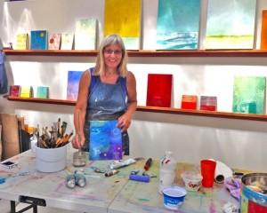 Anne Hebebrand, Todos Santos Open Studio Tour, Baja, Mexico