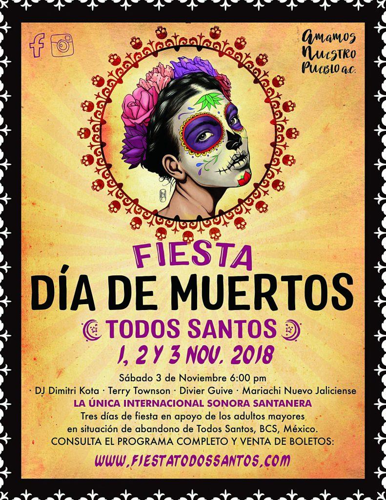 Dia de los Muertos, Todos Santos, Baja, Mexico