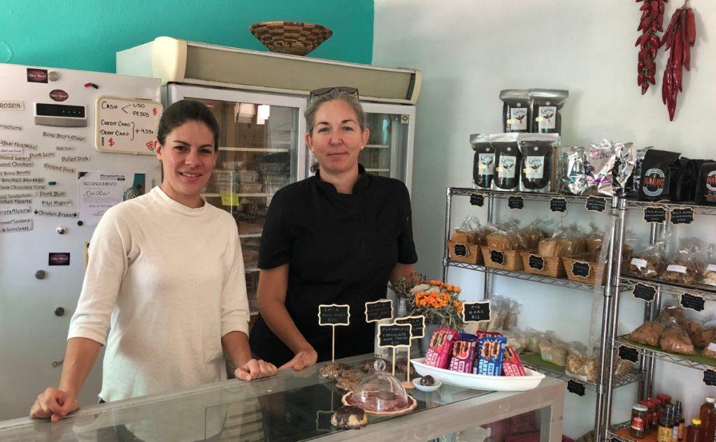 María Lacurain and Norma Redo, Que Rico Foods, Todos Santos, Baja, Mexico
