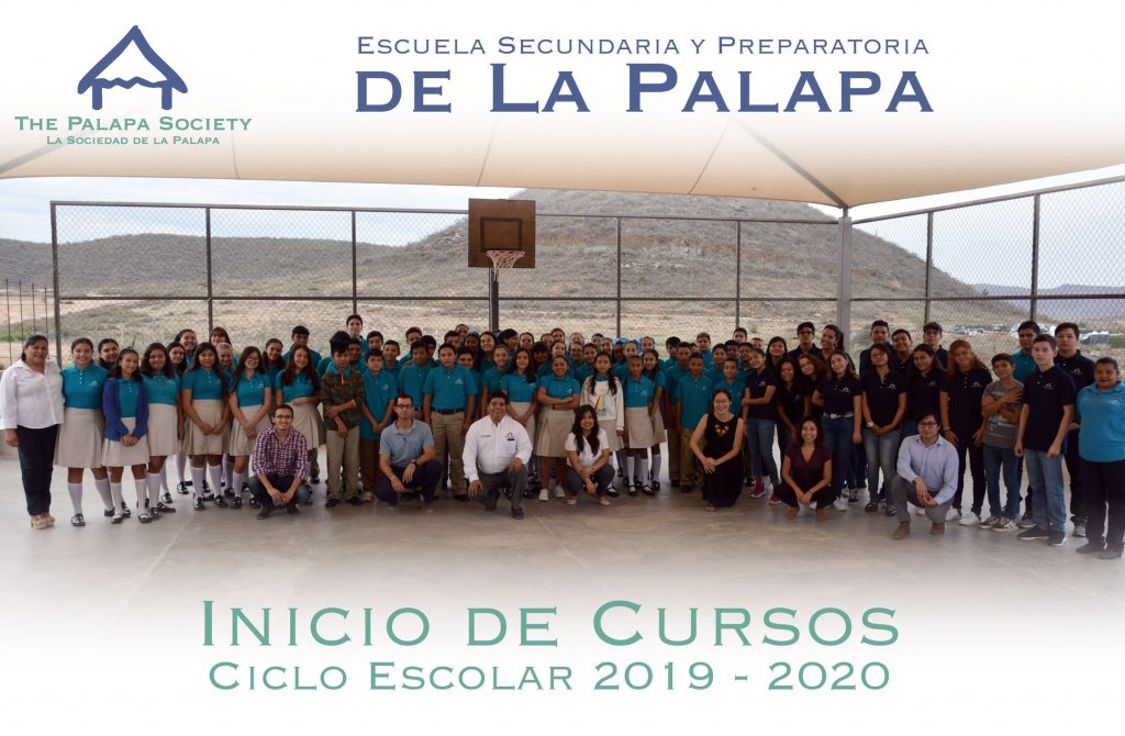 The Palapa School class photo, Todos Santos, BCS, Mexico